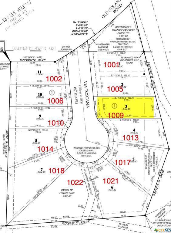 1009 Via Toscana, Nolanville, TX 76559 (MLS #396065) :: Kopecky Group at RE/MAX Land & Homes