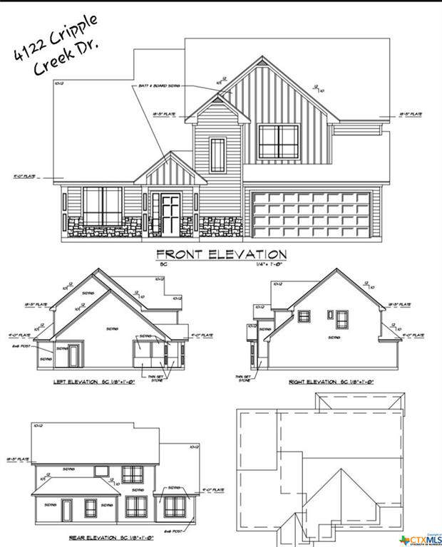 4122 Cripple Creek Drive, Temple, TX 76502 (MLS #396101) :: The Zaplac Group