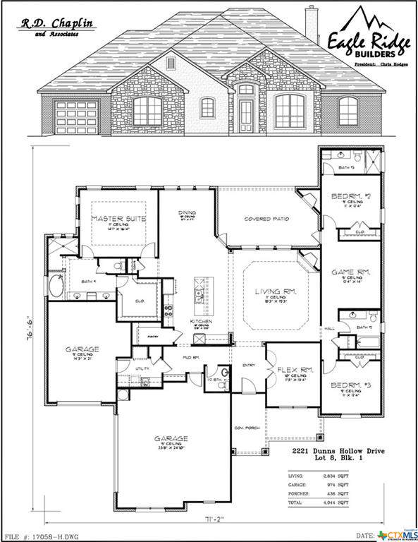 2221 Dunns Hollow Drive, Belton, TX 76513 (MLS #396517) :: The i35 Group