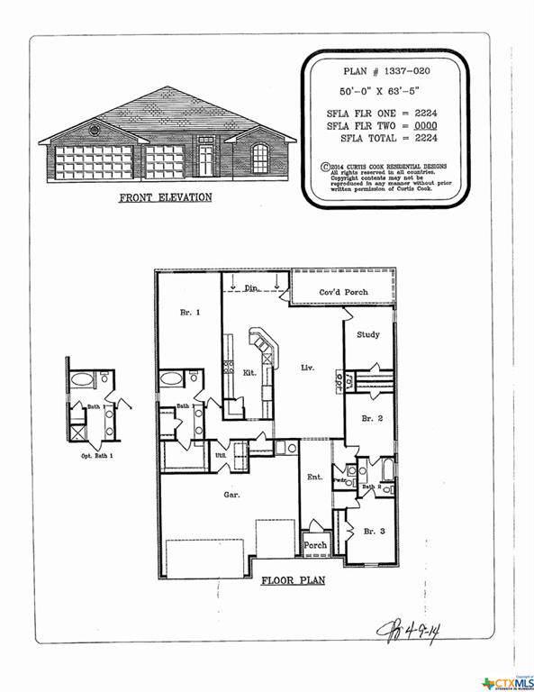 6705 Captain Call Drive, Killeen, TX 76549 (MLS #397307) :: Marilyn Joyce | All City Real Estate Ltd.