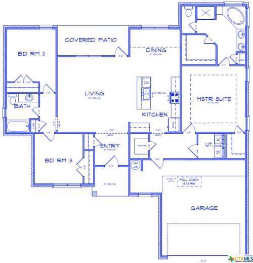 100 Pointer Street, Nolanville, TX 76559 (MLS #399994) :: Isbell Realtors