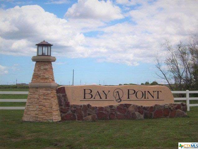 Lot 37 Bay Point Drive, Port Lavaca, TX 77979 (MLS #402394) :: The Zaplac Group