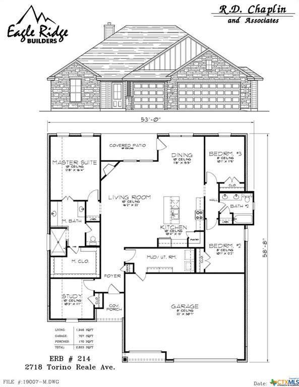 2718 Torino Reale Avenue, Temple, TX 76502 (MLS #402637) :: Berkshire Hathaway HomeServices Don Johnson, REALTORS®