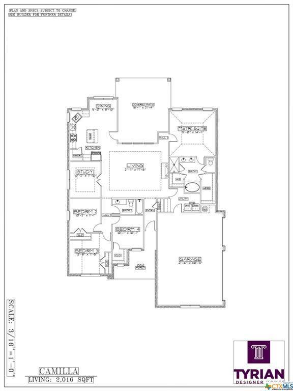5613 Charro Drive, Belton, TX 76513 (MLS #403208) :: Brautigan Realty