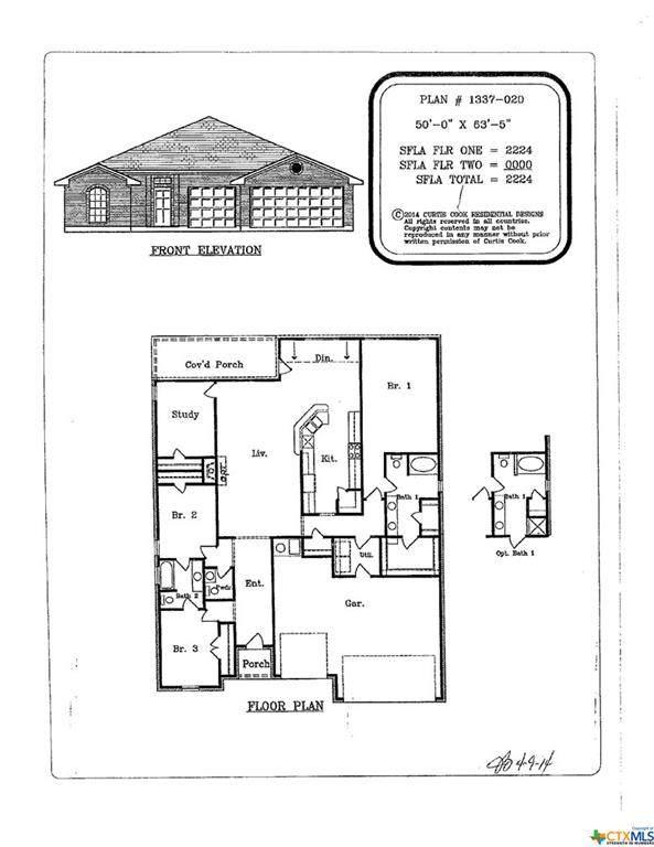 6908 Cassidy Lane, Killeen, TX 76542 (MLS #406232) :: The i35 Group
