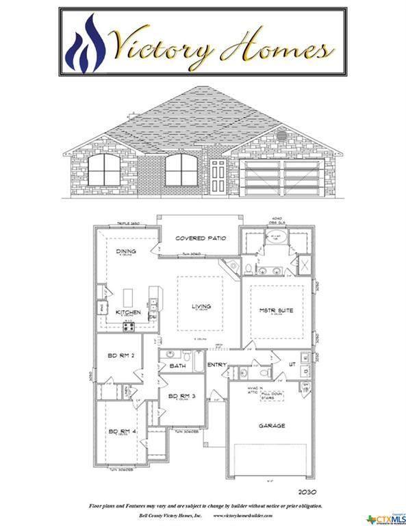 3314 James Ridge Drive, Belton, TX 76513 (MLS #414170) :: The Real Estate Home Team