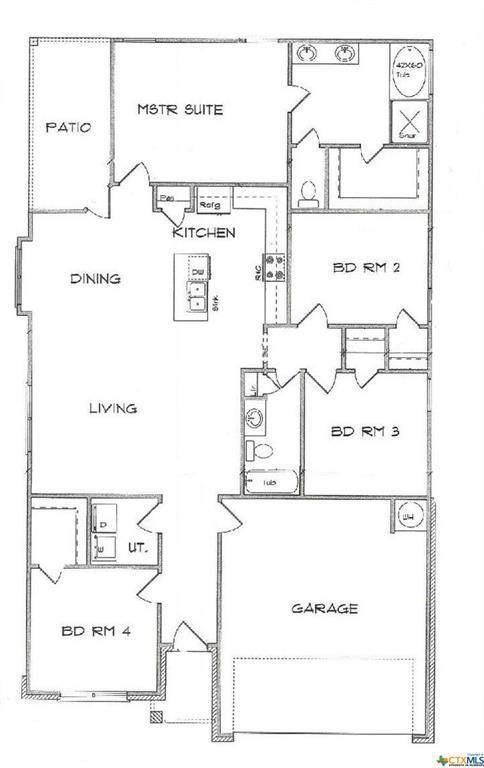 1610 Black Kettle Trail, Temple, TX 76502 (MLS #414907) :: Isbell Realtors