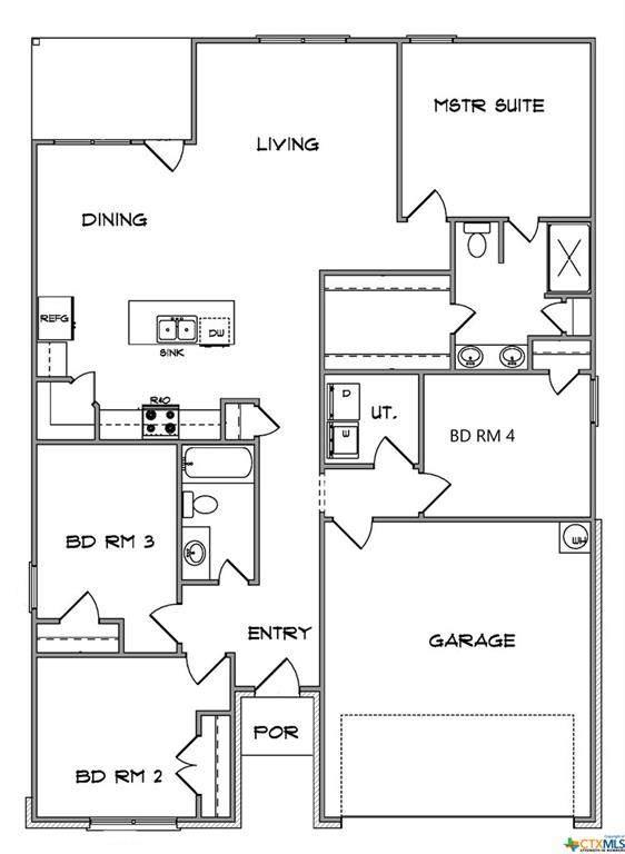 1618 Black Kettle Trail, Temple, TX 76502 (MLS #414930) :: Isbell Realtors