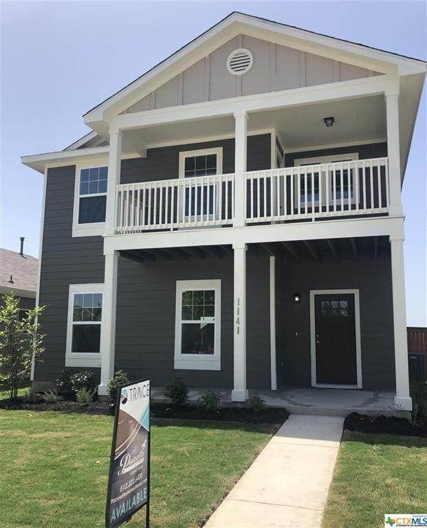 1141 Esplanade Parkway, San Marcos, TX 78666 (#416408) :: All City Real Estate