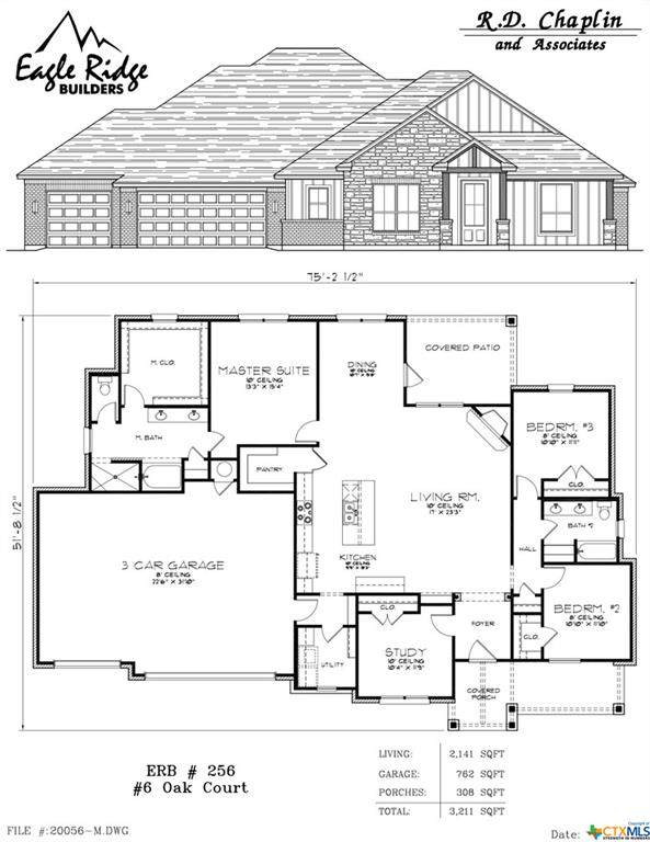 6 Oak Court, Morgans Point Resort, TX 76513 (MLS #421830) :: Kopecky Group at RE/MAX Land & Homes