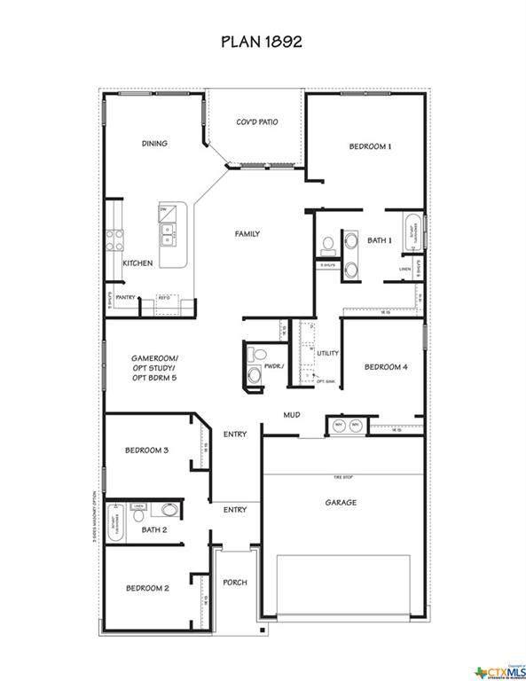 2009 Bee Creek Loop, OTHER, TX 76522 (MLS #421875) :: Vista Real Estate