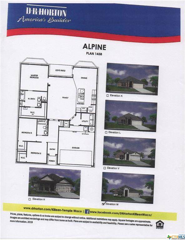 3703 Anvil Range Road, Killeen, TX 76549 (MLS #422225) :: Brautigan Realty