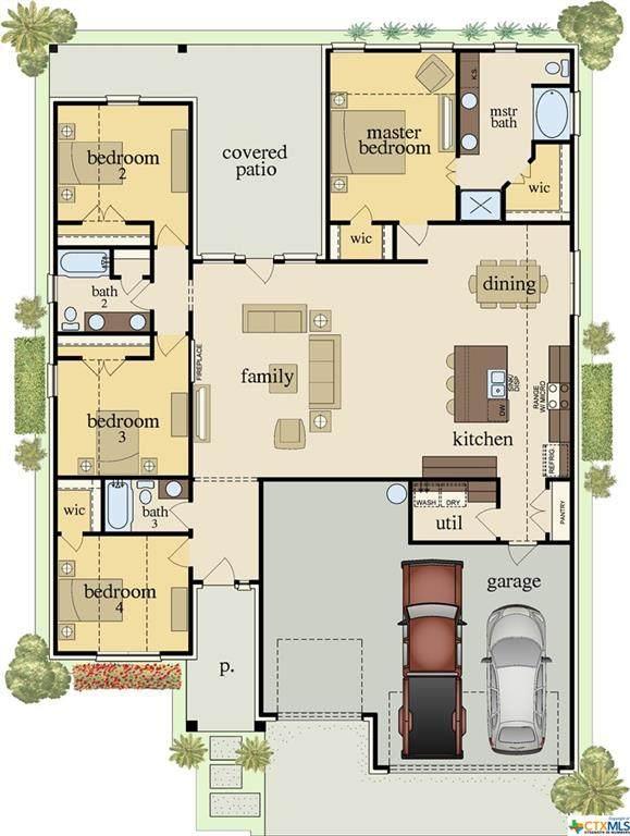 7902 Preston Hollow Drive, Killeen, TX 76542 (MLS #424671) :: Kopecky Group at RE/MAX Land & Homes