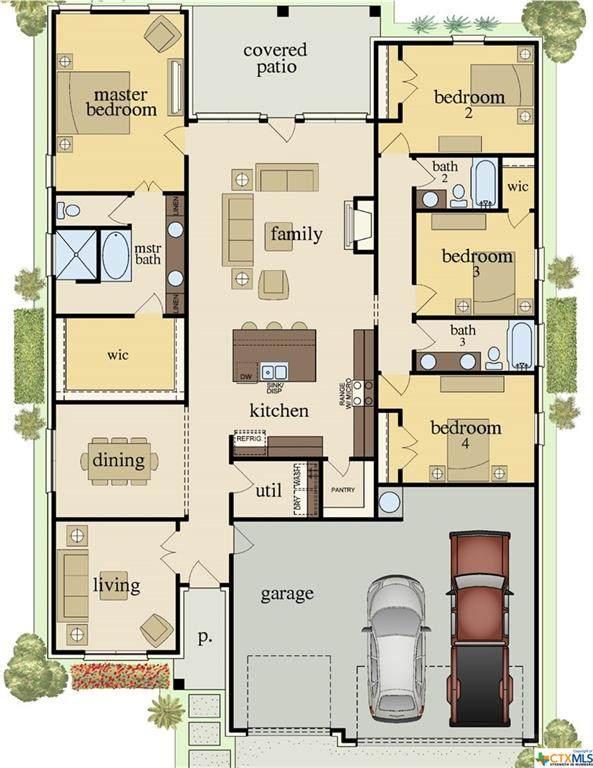 7904 Preston Hollow Drive, Killeen, TX 76542 (MLS #424777) :: Kopecky Group at RE/MAX Land & Homes