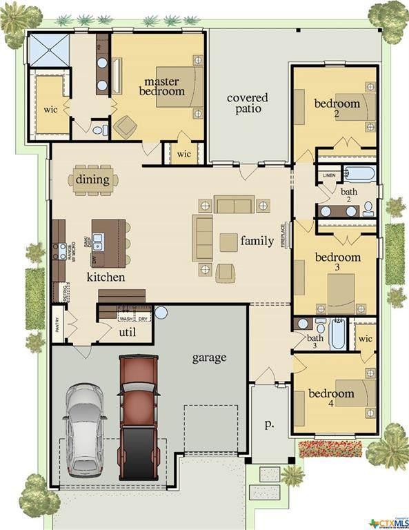 7907 Hathaway Lane, Killeen, TX 76542 (MLS #424902) :: Kopecky Group at RE/MAX Land & Homes