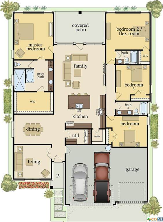 7909 Hathaway Lane, Killeen, TX 76542 (MLS #425018) :: RE/MAX Family