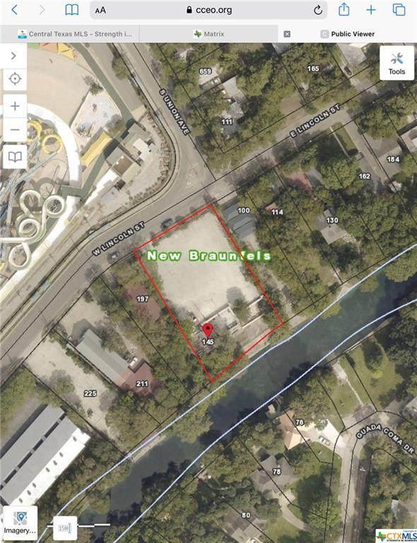 145 W Lincoln Street, New Braunfels, TX 78130 (MLS #435283) :: Brautigan Realty