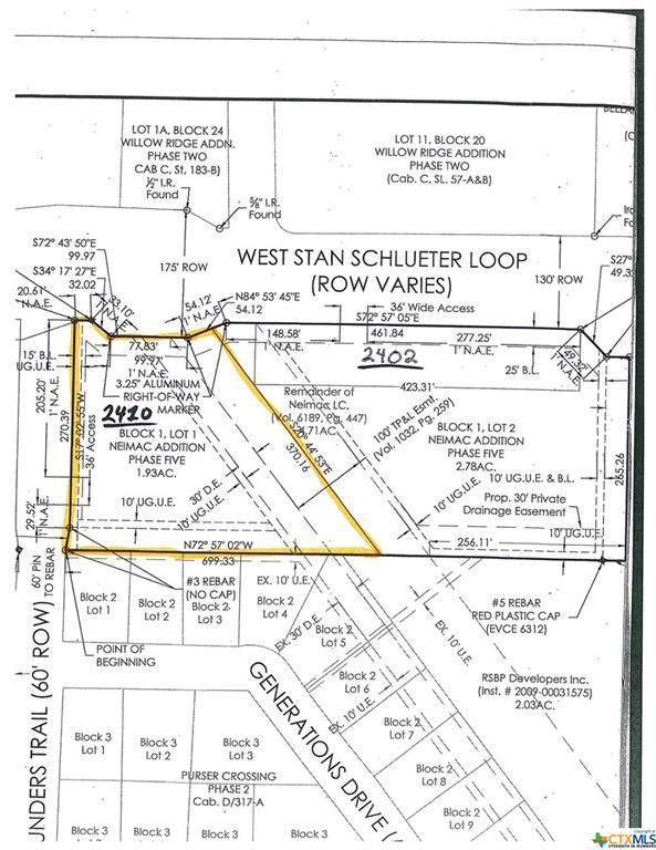 2410 W Stan Schlueter Loop, Killeen, TX 76549 (MLS #435729) :: Kopecky Group at RE/MAX Land & Homes