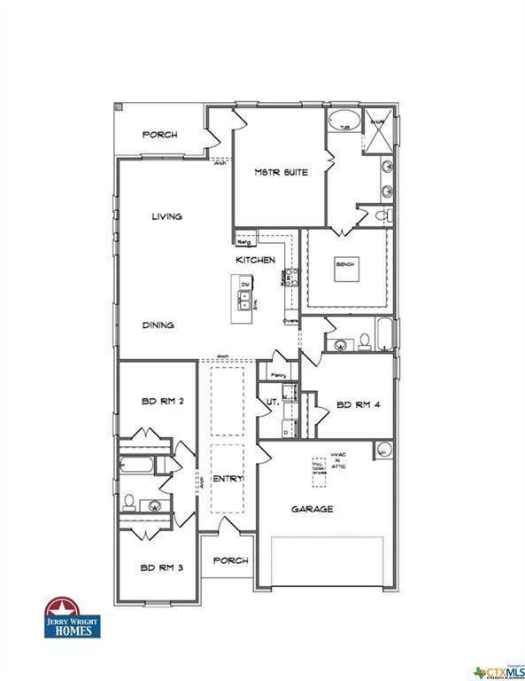 2114 Mercer Street, Nolanville, TX 76559 (MLS #437050) :: Vista Real Estate