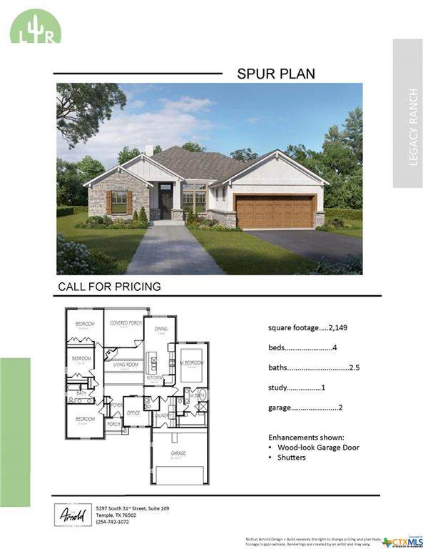 6511 Clayton Court Drive, Temple, TX 76502 (MLS #444973) :: The Real Estate Home Team