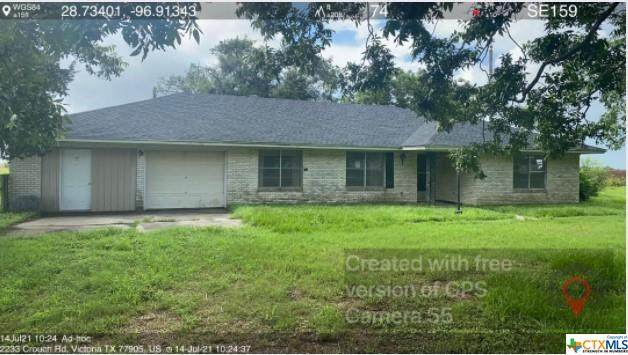 2233 Crouch Road, Victoria, TX 77905 (MLS #446032) :: RE/MAX Land & Homes