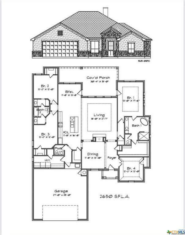 213 Pecan Meadow Lane, Harker Heights, TX 76548 (MLS #449179) :: Kopecky Group at RE/MAX Land & Homes