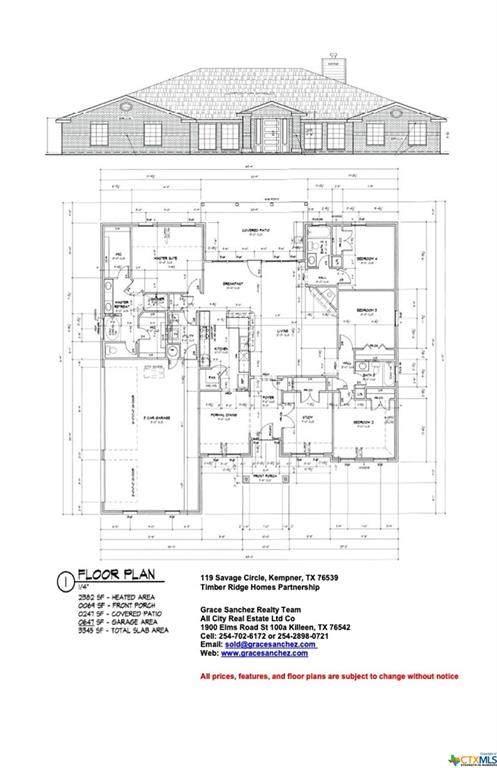 119 Savage Circle, Kempner, TX 76522 (MLS #449239) :: Texas Real Estate Advisors