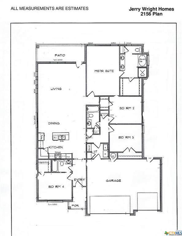 2142 Mercer Street, Nolanville, TX 76559 (MLS #451110) :: Vista Real Estate