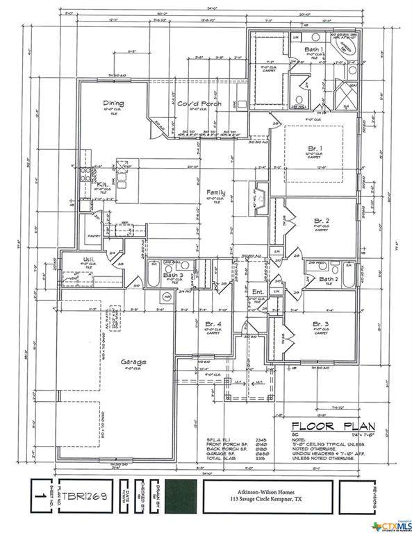 113 Savage Circle, Copperas Cove, TX 76522 (MLS #451681) :: Texas Real Estate Advisors