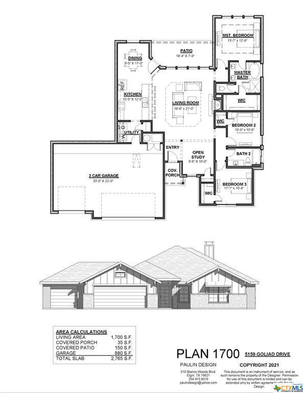 5159 Goliad Drive, Temple, TX 76502 (#453113) :: Empyral Group Realtors
