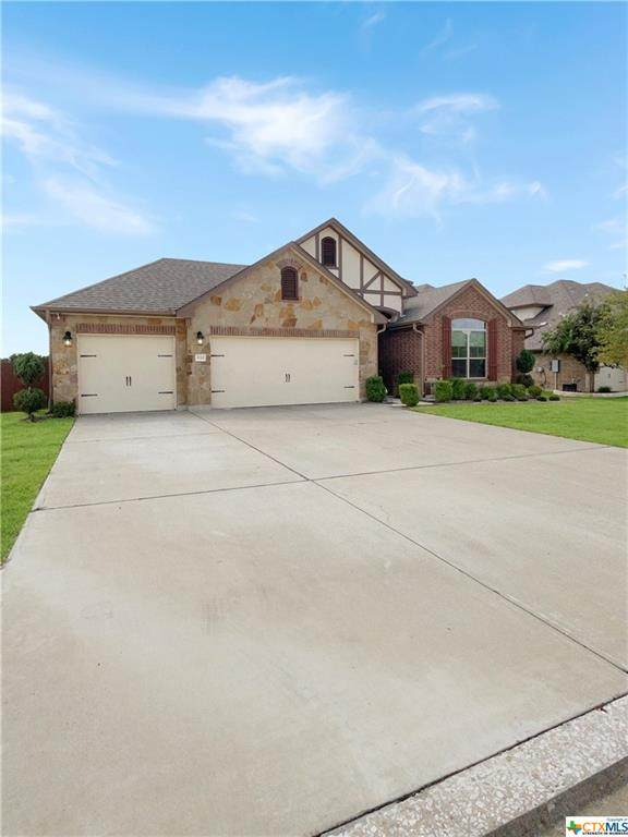 3722 Mesquite Branch Drive, Harker Heights, TX 76548 (#454456) :: Empyral Group Realtors