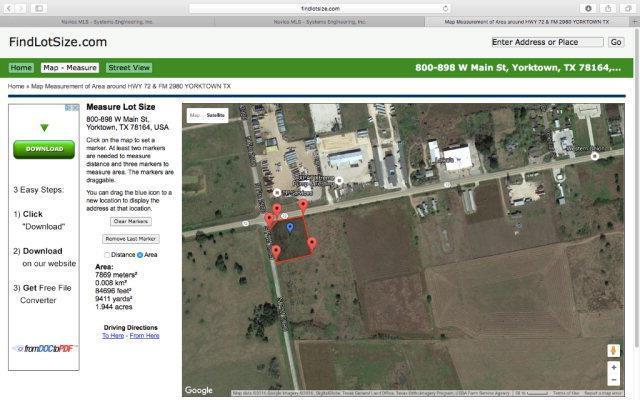 709 Old Yorktown Road, Yorktown, TX 78164 (MLS #V225276) :: RE/MAX Land & Homes