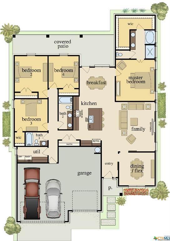7908 Preston Hollow Drive, Killeen, TX 76542 (MLS #446835) :: The Real Estate Home Team