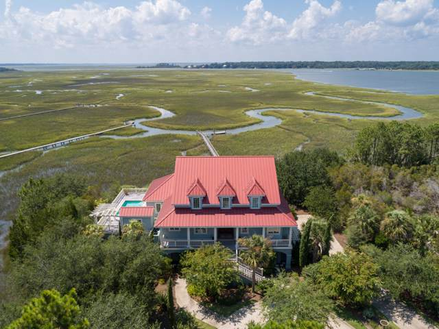 2719 Jenkins Point Road, Seabrook Island, SC 29455 (#19023356) :: The Cassina Group