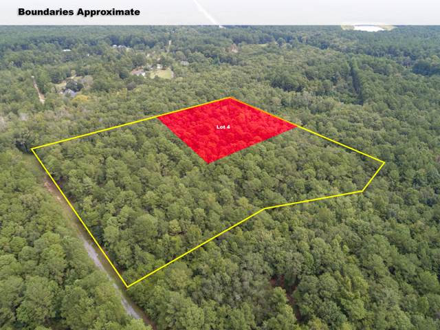 Lot 4 White Road, Awendaw, SC 29429 (#19023954) :: The Cassina Group