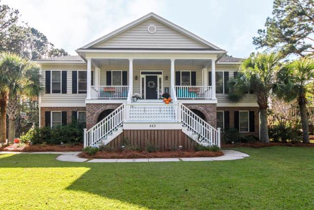 449 Commonwealth Road, Mount Pleasant, SC 29466 (#19031126) :: The Cassina Group
