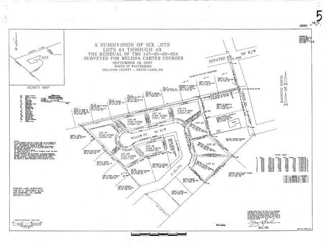Lot 44 Willow Ct, Walterboro, SC 29488 (#20022061) :: Realty ONE Group Coastal