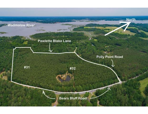 0 Pawlett Blake Lane Parcel 31+32, Wadmalaw Island, SC 29487 (#20023626) :: The Cassina Group