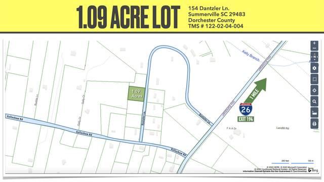 154 Dantzler Lane, Summerville, SC 29483 (#20033758) :: The Cassina Group