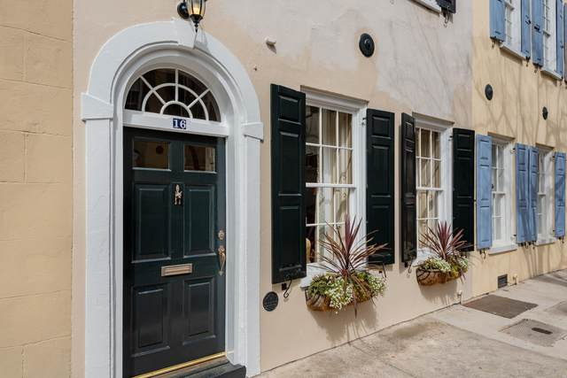 16 Tradd Street, Charleston, SC 29401 (#21004198) :: The Cassina Group