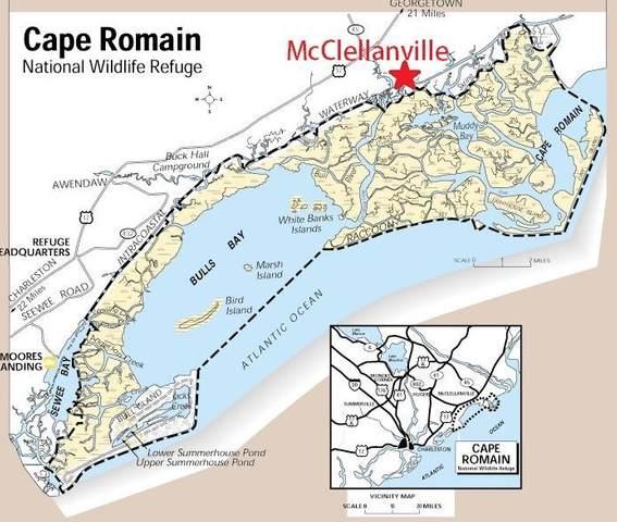 333 Mcclellan Avenue, Mcclellanville, SC 29458 (#21004559) :: The Cassina Group