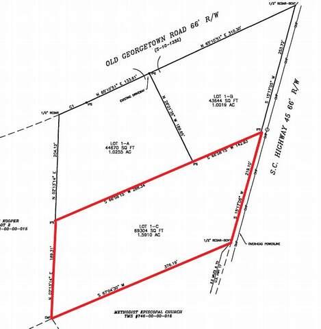 1775 Highway 45, Mcclellanville, SC 29458 (#21007017) :: Realty ONE Group Coastal