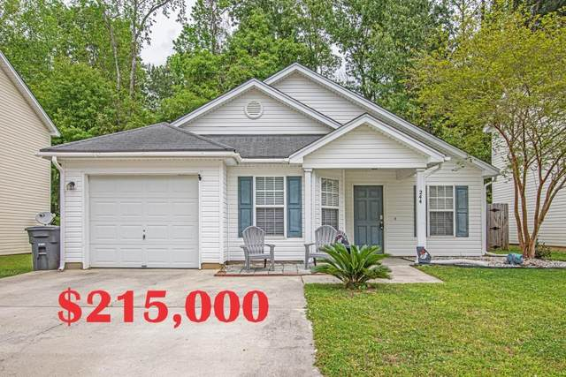 244 Trickle Drive, Summerville, SC 29483 (#21009470) :: Realty ONE Group Coastal