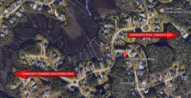 3711 St Ellens Drive, Mount Pleasant, SC 29466 (#21018866) :: The Gregg Team