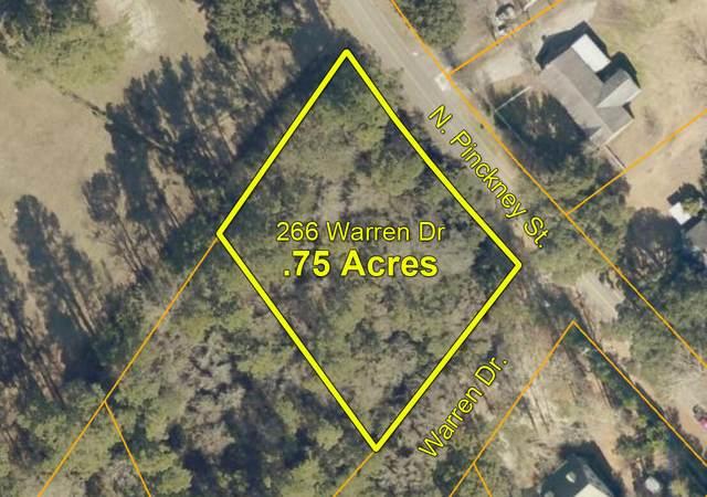 266 Warren Drive Lot 9, Mcclellanville, SC 29458 (#21021168) :: Flanagan Home Team