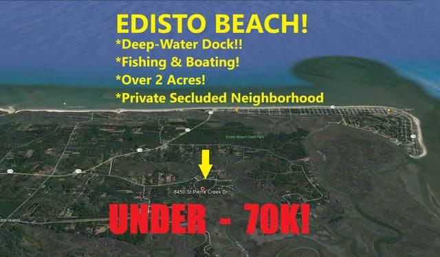 8450 St Pierre Creek Drive, Edisto Island, SC 29438 (#21027816) :: Flanagan Home Team