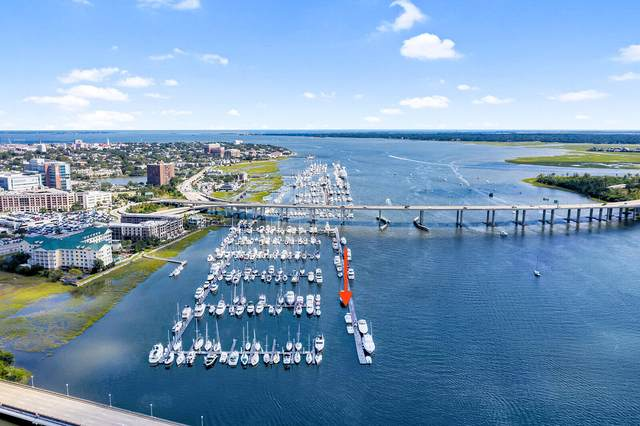 33 Lockwood Drive T-Dock Slip 13 , Charleston, SC 29401 (#21028220) :: Realty ONE Group Coastal