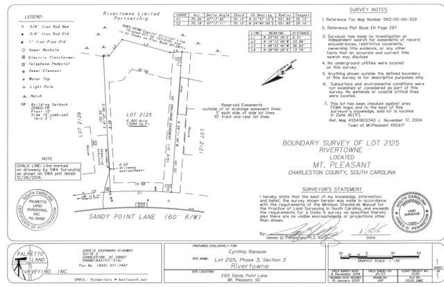 2125 Sandy Point Lane, Mount Pleasant, SC 29466 (#18009075) :: The Cassina Group