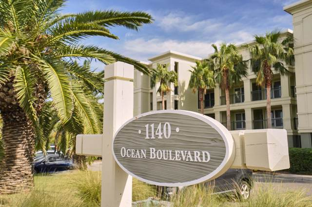 1140 Ocean Boulevard #104, Isle Of Palms, SC 29451 (#19028664) :: The Cassina Group