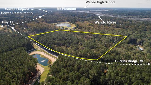 0 Guerins Bridge Road, Awendaw, SC 29429 (#19030761) :: The Cassina Group
